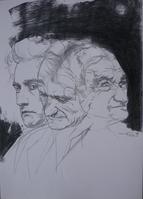 Antonin Artaud 20X30